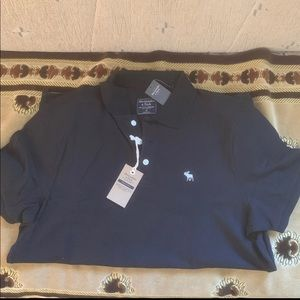 Abercrombie & Fitch Stretch Polo Shirt